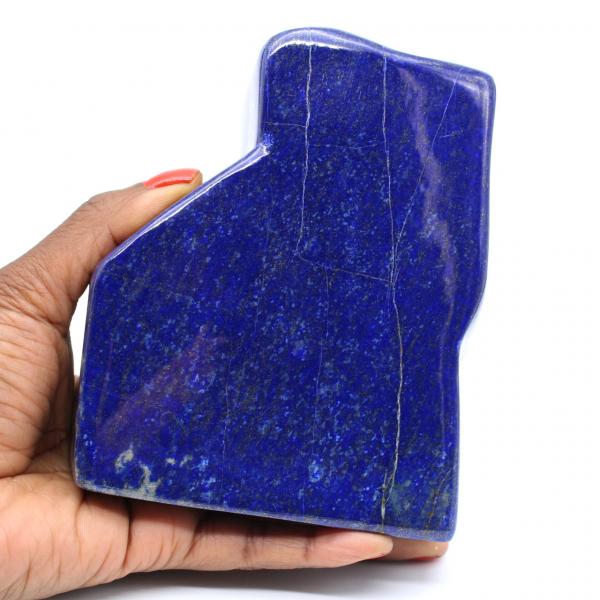 Large polished lapis lazuli block for collection