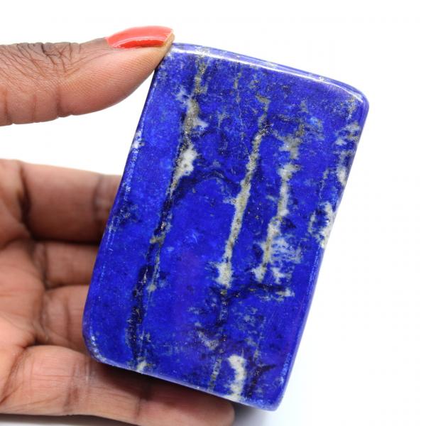 Collector's polished lapis lazuli