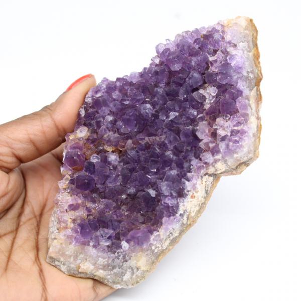 Uruguayan amethyst crystallization