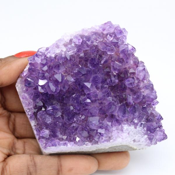 Piece of amethyst from Uruguay