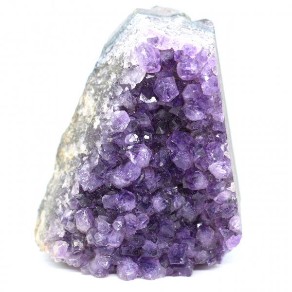 Piece of amethyst stone from Uruguay
