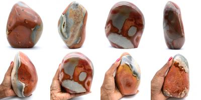Free forms in jasper stone Madagascar collection February 2021